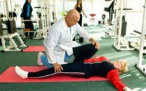 лечебная гимнастика при артрозе коленного сустава: комплекс упражнений (ЛФК)